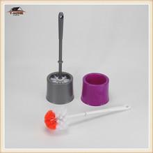 Cute Flower Pot Design Toilet Bowl Brush/toilet brush