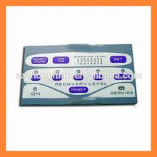 velvet\/gloss PET film \/sheet for membrane switch printing