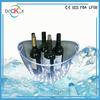 LED plastic ice cream buckets /wine cooler ice bucket