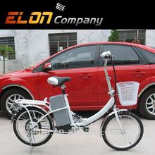 fashionable Folding Green Power Electric Bike for students (E-TDE06D)