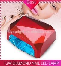 2015 new long life diamond 36w ccfl led nail lamps professional nail lamps for nail dry