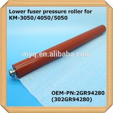 Compatible for used Kyocera Mita copiers 2GR94280 (302GR94280) Lower Fuser Pressure Roller fit for KM 3050/4050/5050