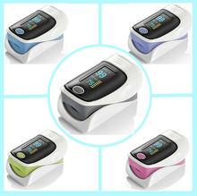 Newest portable LED CE Approved Fingertip Pulse Oximeter spo2 PR Test