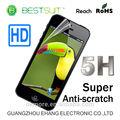 Novos produtos super zero anti- resistente de alta clara 5h pet protetor de tela do telefone inteligente