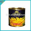 3kg maíz dulce en conserva en salmuera de proveedor chino