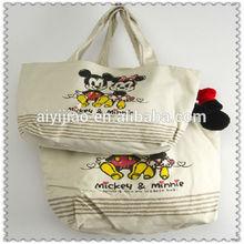 Cotton bag green shopping bag