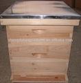 Fabricante fornecer langstroth tamanho da colmeia de abelhas, colméia
