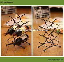 Hu Zhou 2014 Simple Design Luxury Home Furniture Mini Wine Iron Rack