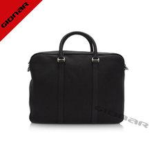 Genuine Leather Men Bags Cheap Grain Leather Handbag Guangzhou Handbag Factory