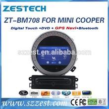 ZESTECH car gps Dvd player DVB-T car gps mini cooper car gps with dvd player