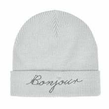 Custom embroidered logo fashion beanies women/minion crochet beanies