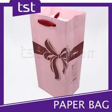 Quality Printing Art Paper Bag with Satin Handle