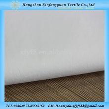 60S cotton stretch poplin white cotton lycra poplin fabric