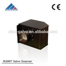 JS2807 High Precision Leather Fabric Acrylic Laser Cutting Head 500W