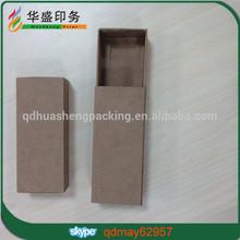Custom popular small matchbox style kraft paper boxes