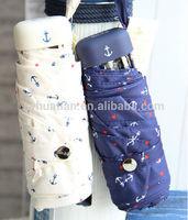 2014 New invention 5 folding super mini umbrella