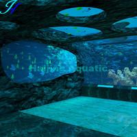 Haijing Acrylic 3D Aquarium Background