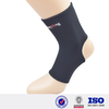 China Black Adjustable Soccer Ankle Guard physical therapy orthopedic sports velcro ankle brace neoprene fabric for sale