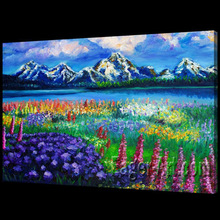 Natural Scenery Art Painting