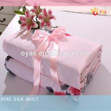 Handmade Natural Silk Quilt Supplier