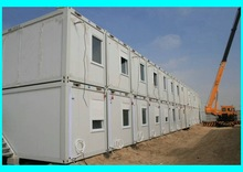 Hot! 20ft workers camp office luxury container house price / house container