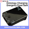 Dual USB Port Hand crank Universal Power Bank Mobile Charger 5000 mah