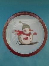 Christmas design paper plate,paper plate set