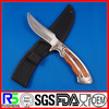 High Quality 440 Stainless Steel Color Wood Handle knives for hunting