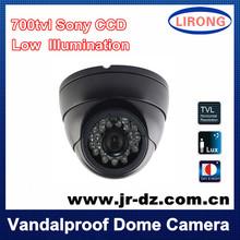 Security Surveillance dome Camera sony CCD IR 24LED 700tvl 960H indoor CCTV night vision NTSC/PAL