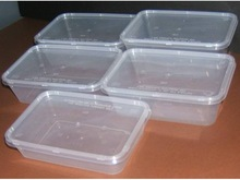 500ml plastic disposable food container