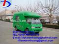 Ton 3 4*2 foton alimentos móvel van caminhão fabricante venda diretamente na china