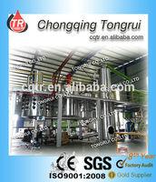 Black Engine Oil Purification Machine/Used Mobil Oil Recycling Machine/Engine Oil Decoloring Machinery