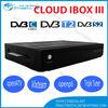 2014 Cloud ibox 3 Twin Tuner Enigma 2 Linux HD Decoder Cloud ibox3 Receiver DVB S / S2 + T2 /C Cloud Ibox iii Decoder Samsat HD
