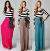 knit jersey maxi dress, knitted rayon maxi dress for lady, dress lady