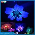 Le club de nuit décoration gonflable, gonflables conduit avec cinq pétales de fleur