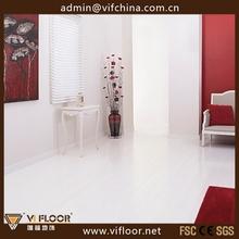 Affordable Matt Gloss Easy Lock Solid White Bamboo Flooring