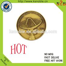 Promotion personnalisée 3d anciens, pièces de cuivre