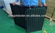 150w portable folding solar panel/folding kit outdoor
