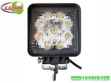 Hotsale super bright led work light 12v 24v led work lamp for cars with EMC function LJL-0727
