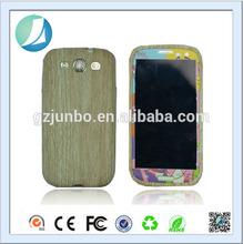 wood grain soft TPU case for Samsung Galaxy S3