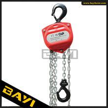 China factory direct sell DB hand chain hoist 1.5 ton chain block