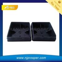 furniture Plastic Square Pipe Inserts for desk legs (YZF-C477)
