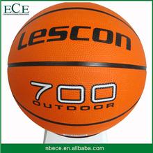promotional sport ball inflatable slam dunk size 7 basketball rubber ball