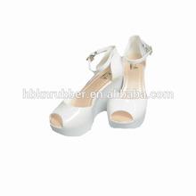 PVC material jelly sandal slippers brand name