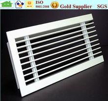 HVAC fixed type aluminium linear slot diffuser air grill