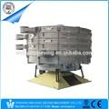 売れ筋消費高精度低温炭素鋼抗- 腐食単層ロータリータンブラーのふるい機
