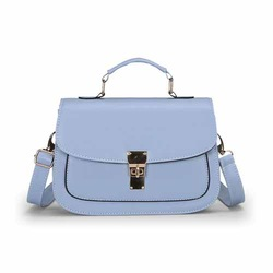 B2008 trendy bag retro magazine solid color girls shoulder women bags china supplier
