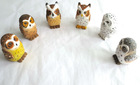2014 newest fashion cutest wooden carving owl wood crafts