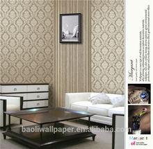 2013 new designKorea simple stytle non-woven wallpaper/ 2012 new style wallpaper/ 2014 modern tv backing wallpaper