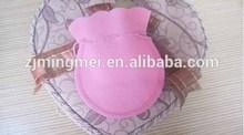 Customized Logo Wholesale colorful Eco-Friendly Velvet pouch / Velvet bag / gift bag V43